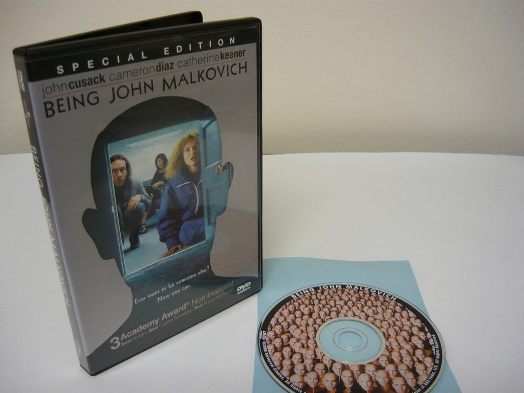 Being John Malkovich DVD (WIDESCREEN) Special Edition Comedy Movie John Cusack