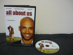 All About Us DVD WIDESCREEN NOT RATED Comedy Action Adventure Romance