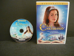 Ella Enchanted DVD (WIDESCREEN) Science Fiction Fantasy Anne Hathaway