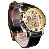 Novel Design Fashion Men's Classic Skeleton Mechanical Watch - Camp Planning Store - Camping Gear and Gadgets