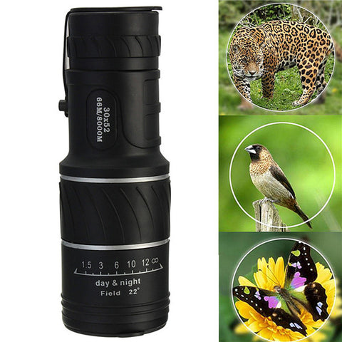 High Quality Adjustable 30X52 Mini Dual Focus Telescope - Camping Gear and Gadgets - Camp Planning