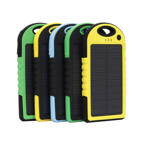 5000 mAh Solar Charger - Camp Planning Store - Camping Gear and Gadgets