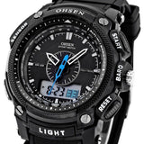 OHSEN Digital LCD Military Watch - Camp Planning Store - Camping Gear and Gadgets
