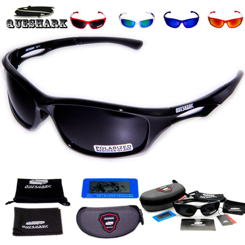 Queshark Polarized UV Protection HD Lens Sunglasses - Camping Gear and Gadgets - Camp Planning