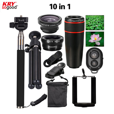 New 10 in 1 Phone Camera Lens Kit - Camping Gear and Gadgets - Camp Planning