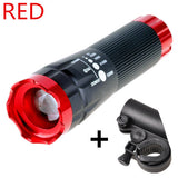 Cycling LED Front Head Light with Mount - Camp Planning Store - Camping Gear and Gadgets