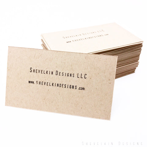 Shevelkin Designs Business Cards