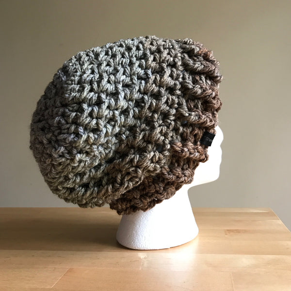Slouchy Wool Beanie Multicolor