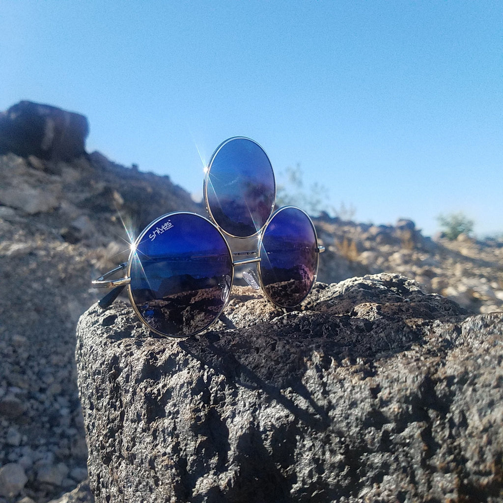 Blue Third Eye Sunglasses