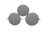 Image of Mirrored Third Eye Sunglasses
