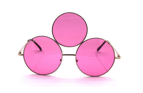 Pink Third Eye Sunglasses