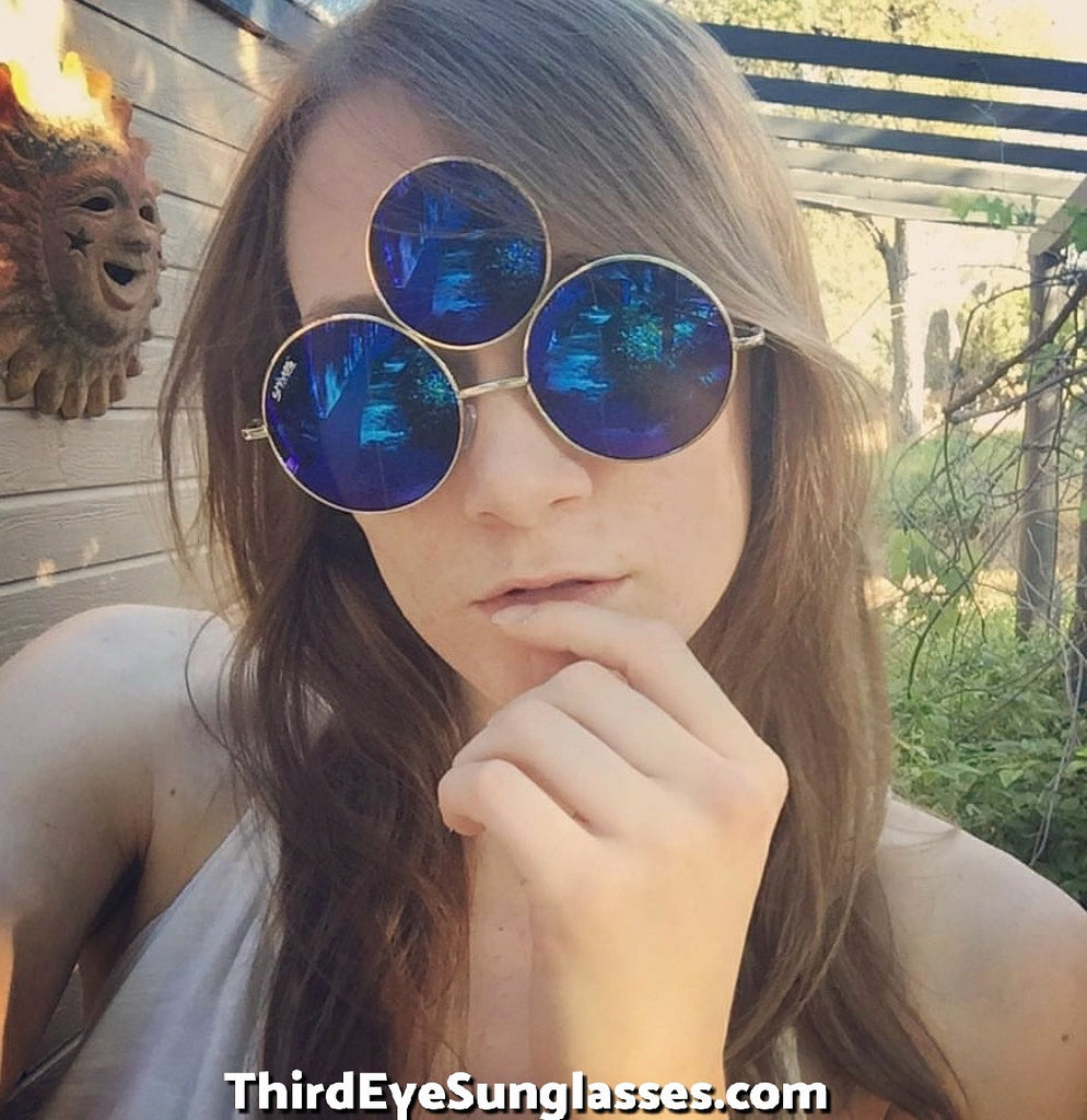 a1624e65fbfb ... Third Eye Sunglasses by Shivas Includes Free Case. Prince Tribute And EDC  Style ...