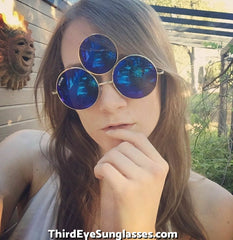 Third Eye Sunglasses by Shivas Includes Free Case.