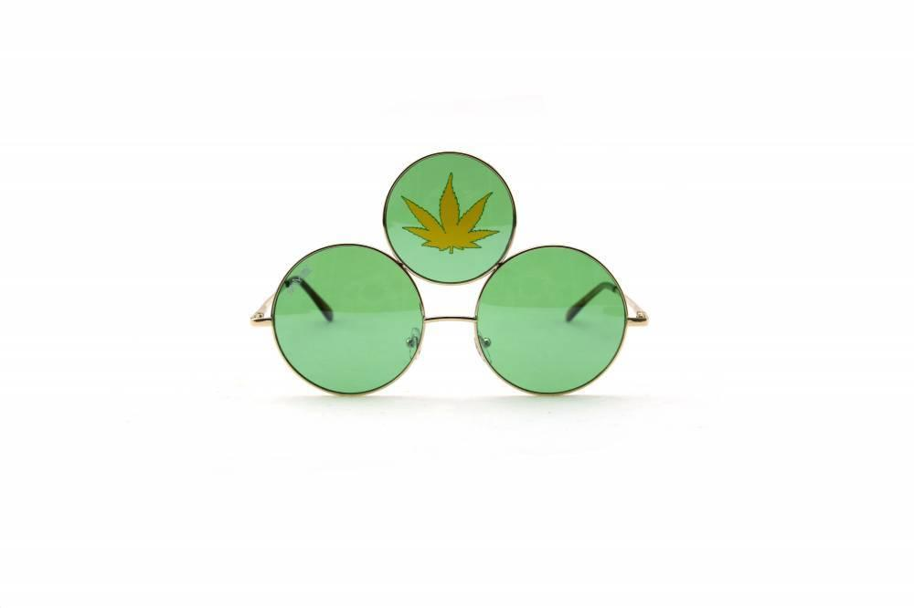 Marijuana Third Eye Sunglasses
