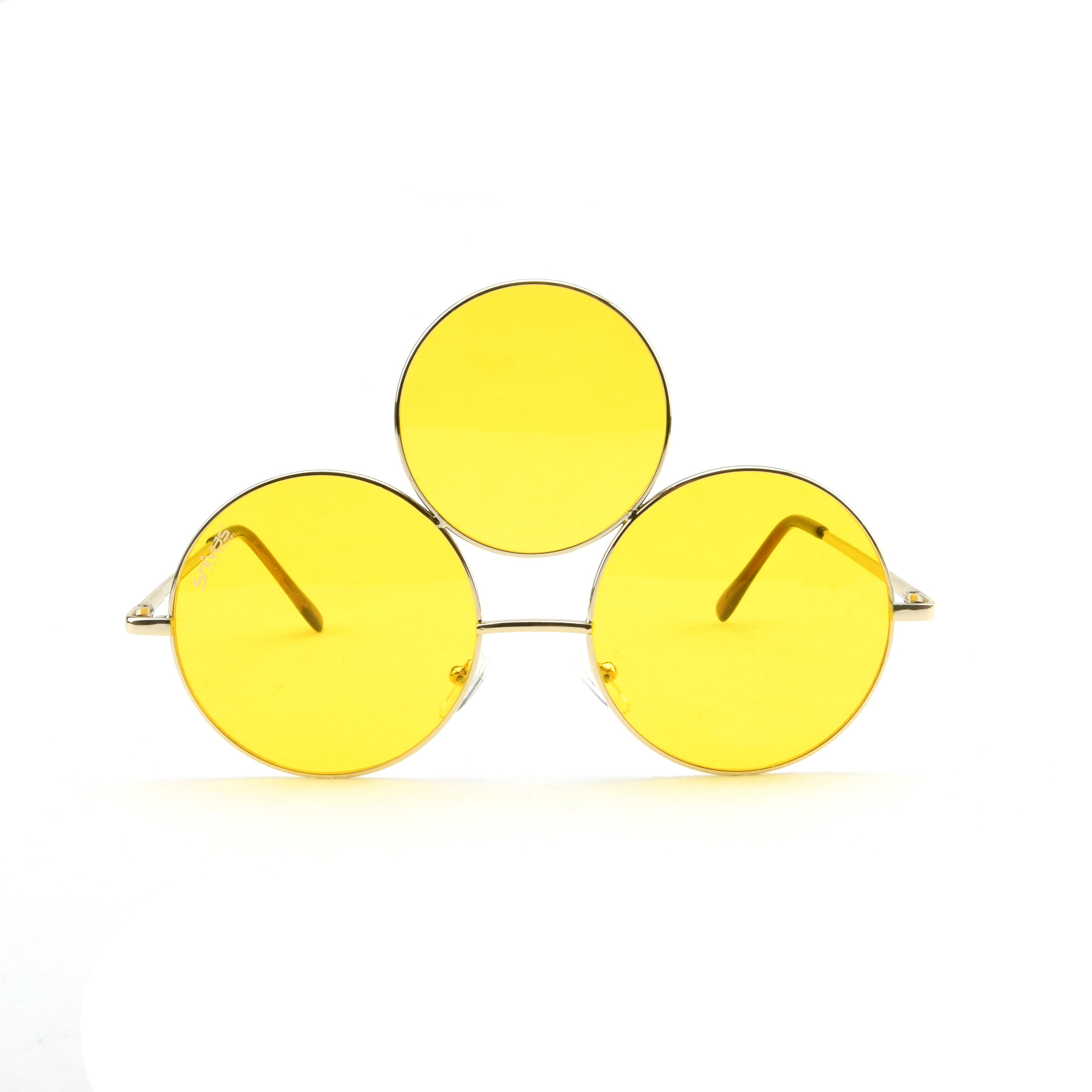 493734b49d Yellow Third Eye Sunglasses