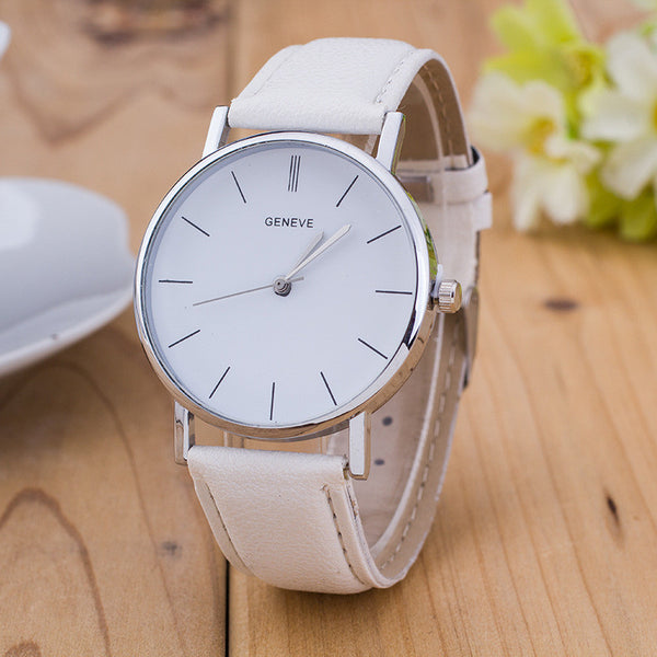 Womens Classic Dial Watch