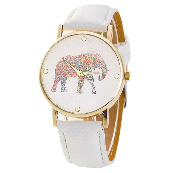 Women's Elegant Elephant Watch Choose your Strap