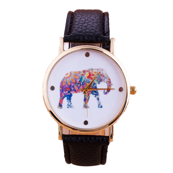 Womens Elegant Elephant Watch Choose your Style