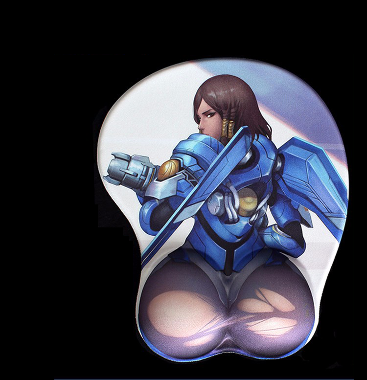 Overwatch Pharah 3D Mouse Pad