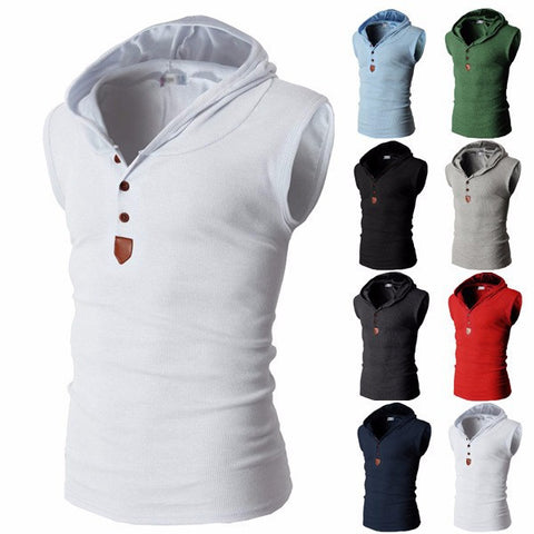 Assassins Creed Sleeveless Henley Hoddie