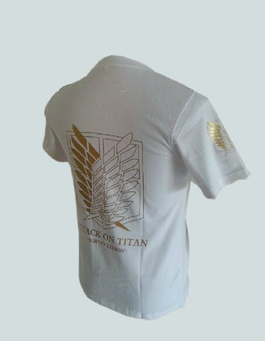 Attack On Titan Survey Corps Gold T-shirt