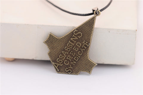 Assassins Creed Syndicate Bronze Necklace