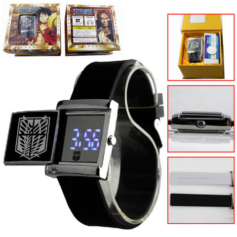 Attack on Titan LED Watch