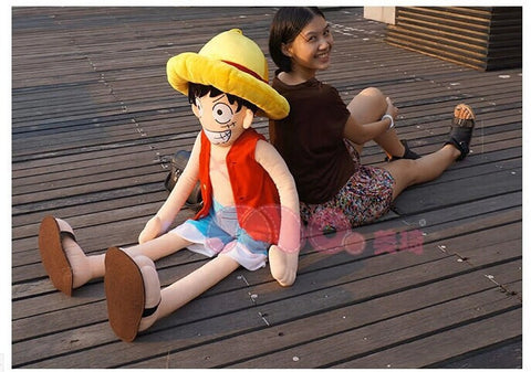 One Piece Luffy Tall Plushie
