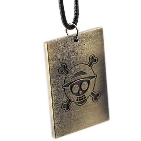 One Piece Trafalgar Law  Wanted Poster Necklace