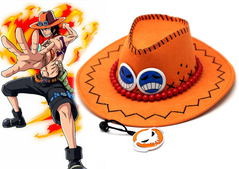 One Piece Portgas D Ace Hat