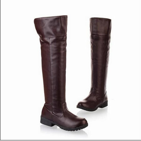 Attack on Titan Knee High Cosplay Boots