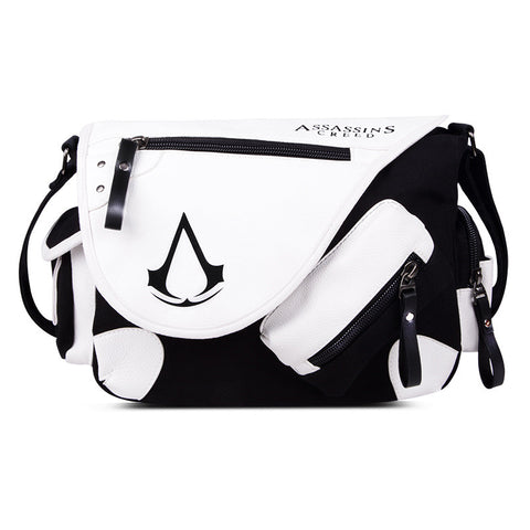 Assassin's Creed Messenger Bag White