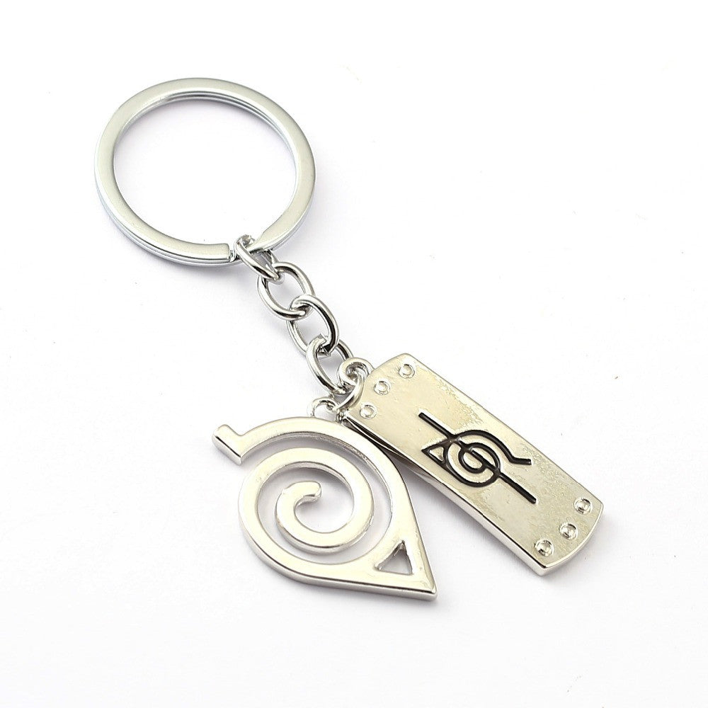 Naruto Leaf Headband Key Chain