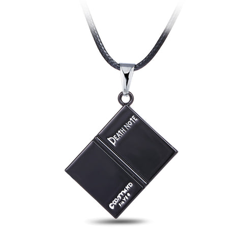 Death Note Open Book Necklace