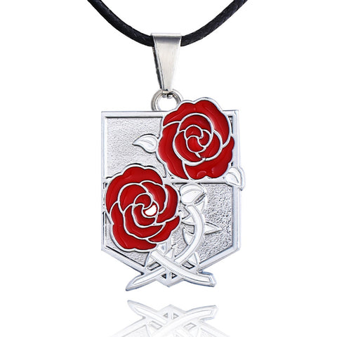 Attack on Titan Stationary Gaurds Necklace