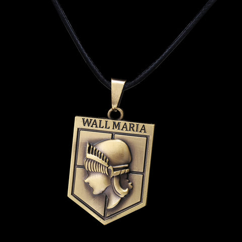 Attack on Titan Wall Maria Necklace