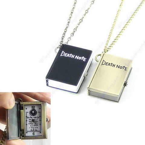 Death Note Necklaces