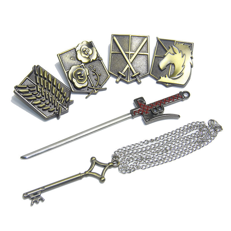 Attack On Titan Emblem Collection Kit