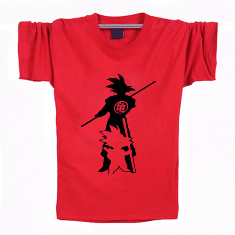 Dragon Ball Z Kid and Grown Goku T-Shirt