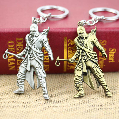 Assassins Creed III Key Chain