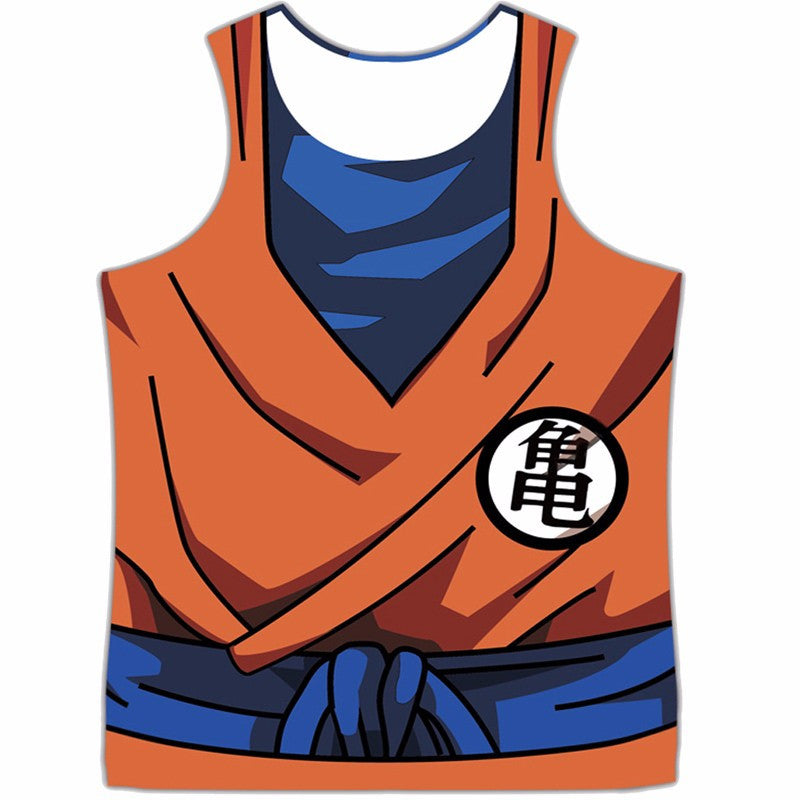 Dragon Ball Z Goku Roshi Tank Top