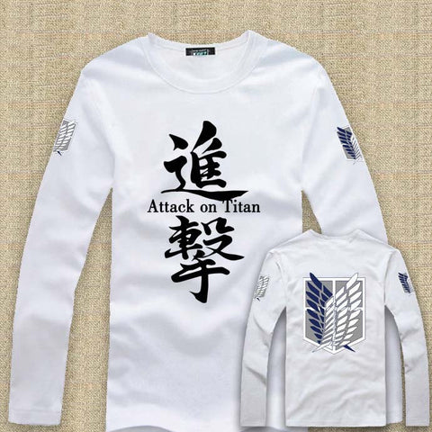 Attack On Titan Long Sleeve Shirt