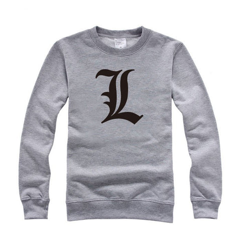 Death Note L Crew Neck Sweater
