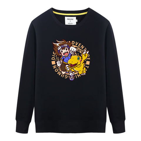 Digimon Taichi & Agumon Crew Neck Sweater