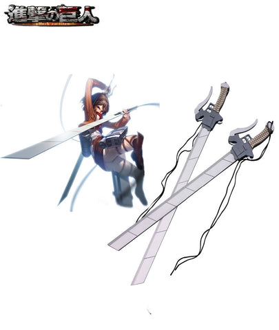 Attack on Titan 3-D Maneuver Gear Wooden Long Sword