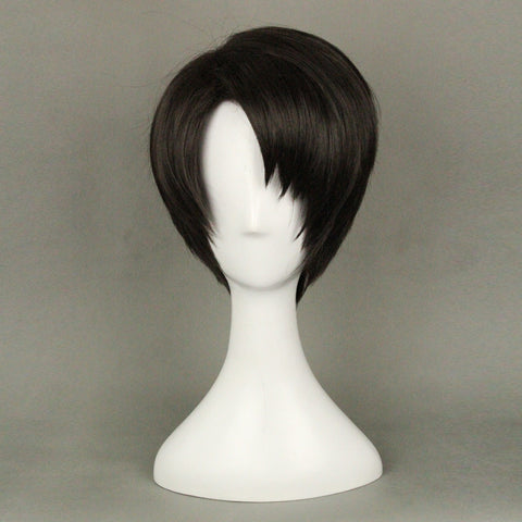Attack on Titan Levi Ackerman Cosplay Wig