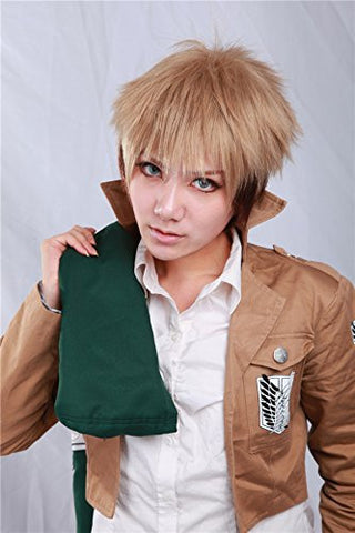 Attack on Titan Jean Kirstein Cosplay Wig