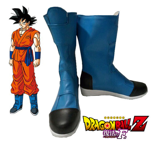 Dragon Ball Super Goku Blue Boots