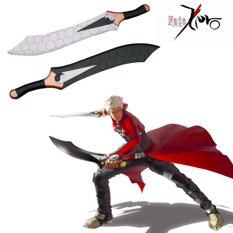 Fate stay night Archer Gan Jiang and Mo Ye Wooden Swords