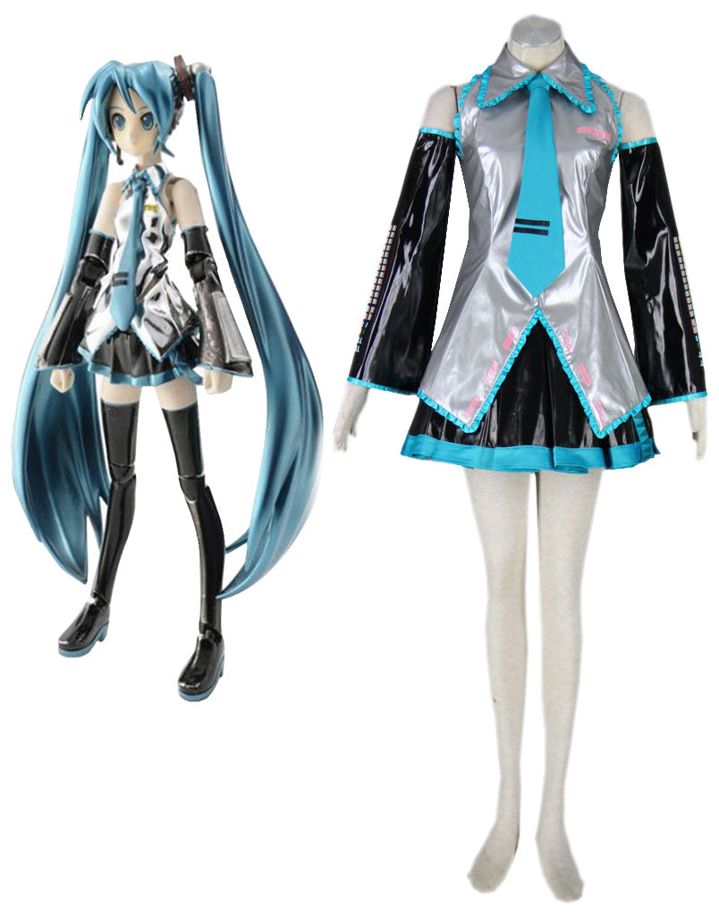 Vocaloid Hatsune Miku Super Alloy Cosplay Costume